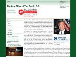 The Law Office of Tim Smith, P.C. (Odessa, Texas)