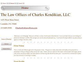 The Law Offices of Charles Kendikian, LLC (Hatfield, Pennsylvania)