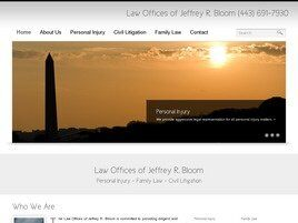 The Law Offices of Jeffrey R. Bloom (Rockville, Maryland)