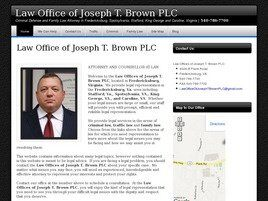 The Law Offices of Joseph T. Brown, PLC (Fredericksburg, Virginia)
