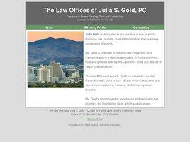 The Law Offices of Julia S. Gold, PC (Reno, Nevada)
