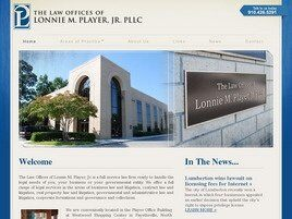 The Law Offices of Lonnie M. Player, Jr., PLLC (Fayetteville, North Carolina)