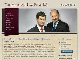 The Marshall Law Firm, P.A. (Greensboro, North Carolina)