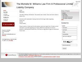 The Michelle M. Williams Law Firm A Professional Limited Liability Company (Dallas, Texas)