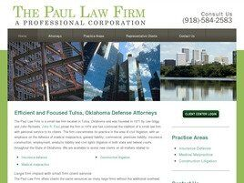 Paul & Lackey A Professional Corporation (Tulsa, Oklahoma)
