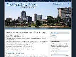 The Pesnell Law Firm A Professional Law Corporation (Caddo Parish, Louisiana)