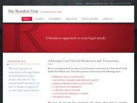The Reardon Firm, Attorneys-at-Law (Fort Worth, Texas)
