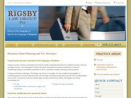 The Rigsby Ball Law Group, PLC (Frankfort, Kentucky)