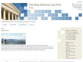 The Ross-Shannon Law Firm, P.C. (Highlands Ranch, Colorado)