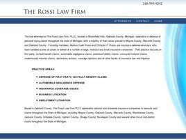 The Rossi Law Firm PLLC (Oakland Co., Michigan)