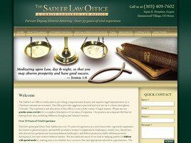 The Sadler Law Office (A Christ Centered Legal Advocacy) (Arapahoe Co., Colorado)