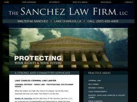 The Sanchez Law Firm, LLC (Lake Charles, Louisiana)