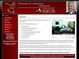 Thomas B. Kakassy Attorney At Law (Gastonia, North Carolina)