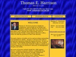 Thomas E. Harrison (Mobile, Alabama)