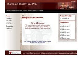 Thomas J. Hurley, Jr., P.C. (Colorado Springs, Colorado)