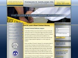 Thomas R. Garland, P.A. (Port St. Lucie, Florida)