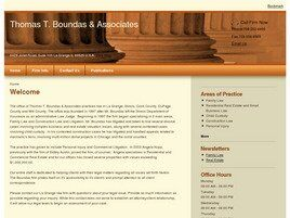 Thomas T. Boundas & Associates (Will Co., Illinois)