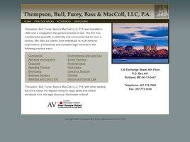 Thompson, Bull, Furey, Bass & MacColl, LLC, P.A. (Portland, Maine)