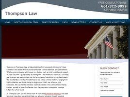 Thompson Law (Visalia, California)