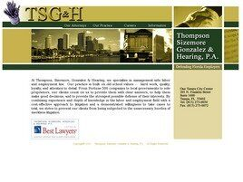 Thompson, Sizemore, Gonzalez & Hearing Professional Association (Hillsborough Co., Florida)