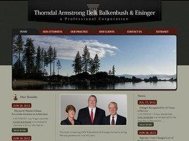 Thorndal Armstrong Delk Balkenbush & Eisinger A Professional Corporation (Reno, Nevada)