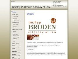 Timothy P. Broden Attorney at Law (Lafayette, Indiana)