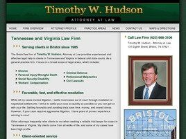 Timothy W. Hudson, Attorney at Law (Bristol, Tennessee)