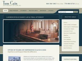 Tom Cain, Attorney at Law (Lawrenceville, Georgia)