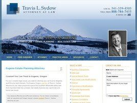 Travis L. Sydow, Attorney at Law (Eugene, Oregon)