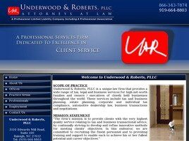 Underwood & Roberts, PLLC (Wake Co., North Carolina)