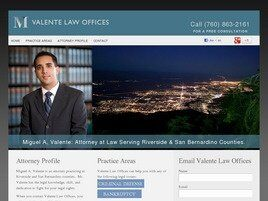 Valente Law Office, APLC (Riverside Co., California)