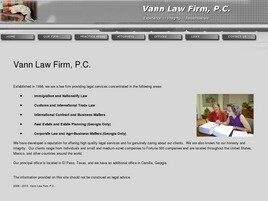 Vann Law Firm, P.C. (Camilla, Georgia)
