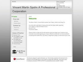 Vincent Martin Spohn A Professional Corporation (Contra Costa Co., California)