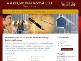 Walker, Melvin & Woodall, LLP (Eden, North Carolina)