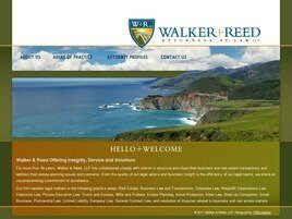 Walker & Reed, LLP (Monterey Co., California)