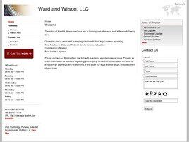 Ward and Wilson, LLC (Huntsville, Alabama)