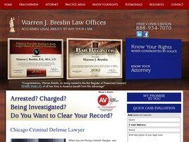 Warren J. Breslin Law Offices (Cook Co., Illinois)