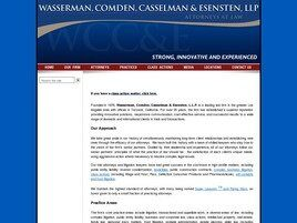 Wasserman, Comden, Casselman & Esensten, LLP (Los Angeles, California)