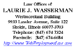 Law Offices of Laurie J. Wasserman (Cook Co., Illinois)