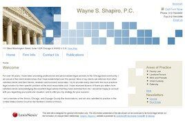 Wayne S. Shapiro, P.C. (Chicago, Illinois)