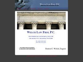 Welch Law Firm, P.C. (Oklahoma City, Oklahoma)