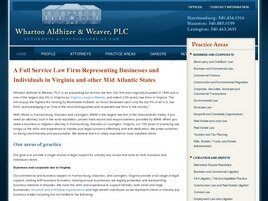 Wharton Aldhizer & Weaver PLC (Staunton, Virginia)