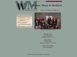 Wiener, Weiss & Madison A Professional Corporation (Shreveport, Louisiana)
