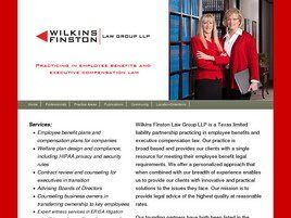 Wilkins Finston Law Group LLP (Dallas Co., Texas)
