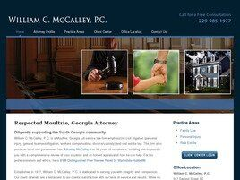 William C. McCalley, P.C. (Moultrie, Georgia)