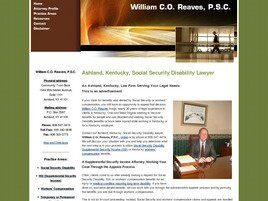 William C.O. Reaves, P.S.C. (Ashland, Kentucky)