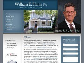 William E. Hahn, P.A. (Tampa, Florida)
