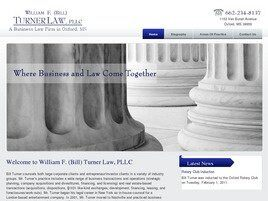 William F. (Bill) Turner Law PLLC (Oxford, Mississippi)