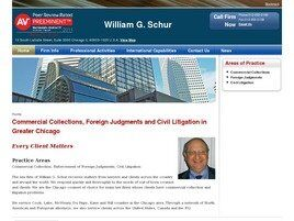 The Law Firm of William G. Schur (Chicago, Illinois)