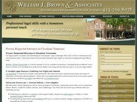 William J. Brown & Associates (Cleveland, Tennessee)